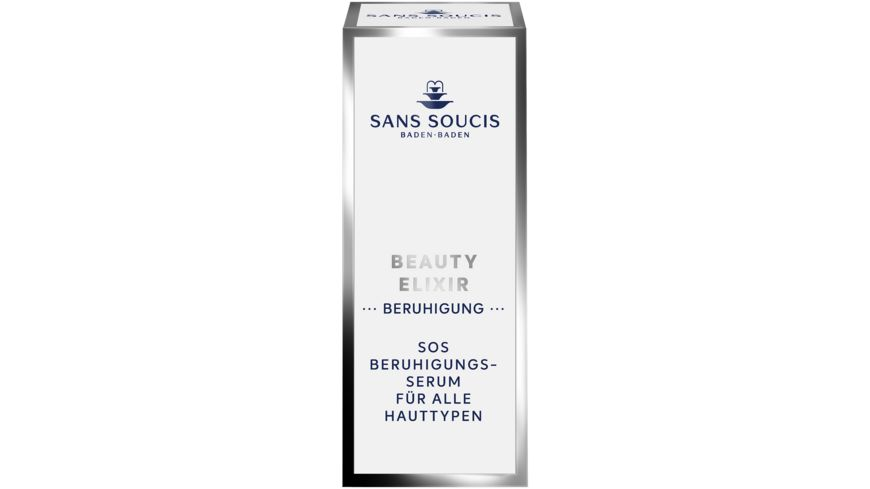 SANS SOUCIS Beauty Elixir Besaenftigung SOS Beruhigungsserum