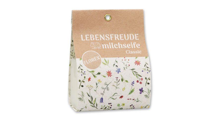 Florex Schafmilchseife eckig Classic