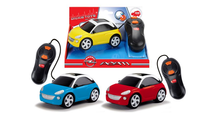 Dickie Opel Adam kabelgesteuertes Spielzeugauto Convertable 1 Stueck sortiert