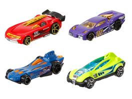 Mattel Hot Wheels 1 64 World Race Fahrzeuge 1 Stueck sortiert