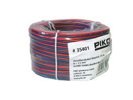 PIKO 35401 G Anschlusskabel rot blau 25m