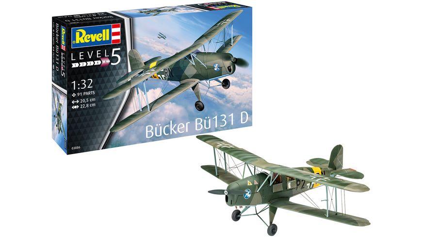 Revell 03886 Buecker Bue 131 Jungmann