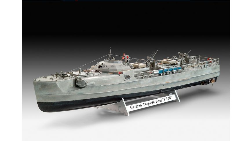 Revell 05162 German Fast Attack Craft S 100