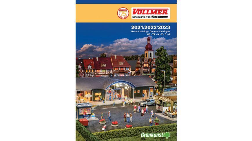 Vollmer 49999 - Katalog 2021/2022/2023 DE/EN
