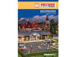 Vollmer 49999 Katalog 2021 2022 2023 DE EN