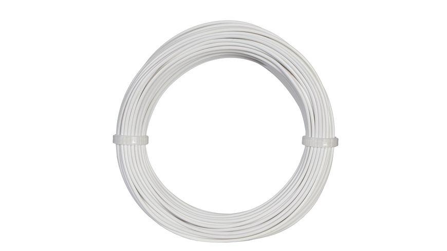 Viessmann 6862 - Kabelring 0,14 mm², weiß, 10 m