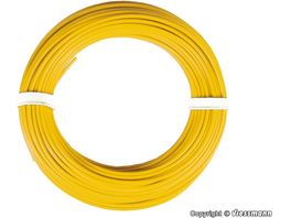 Viessmann 6864 Kabelring 0 14 mm gelb 10 m