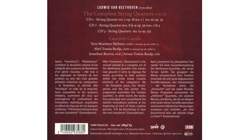 Streichquartette Vol 2 Revelations
