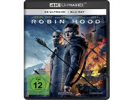 Robin Hood 4K Ultra HD Blu ray 2D