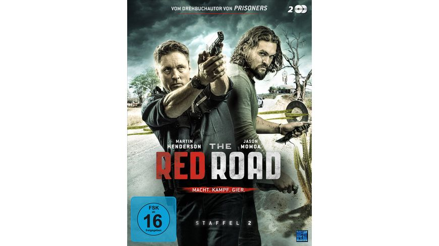The Red Road Staffel 2 2 DVDs