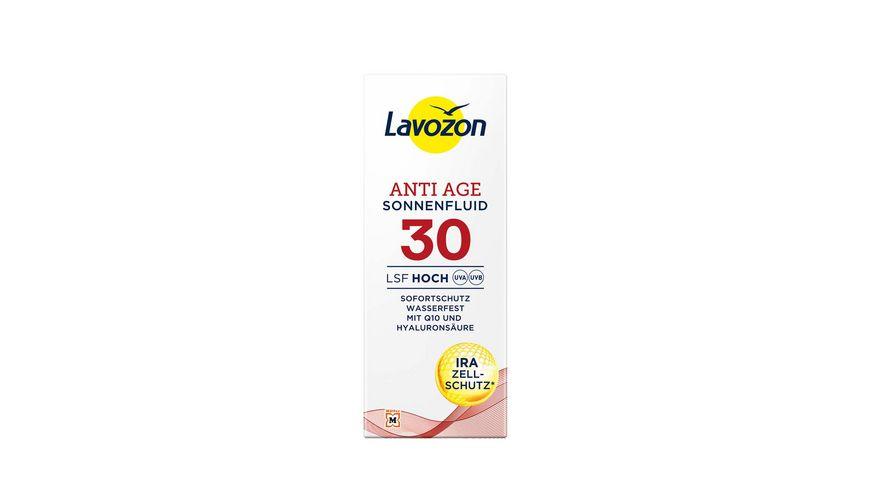 LAVOZON Sonnenfluid LSF 30 Anti Age mit Q10 und Hyaluron