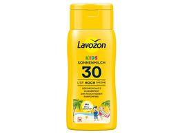LAVOZON Sonnenmilch Kinder LSF 30