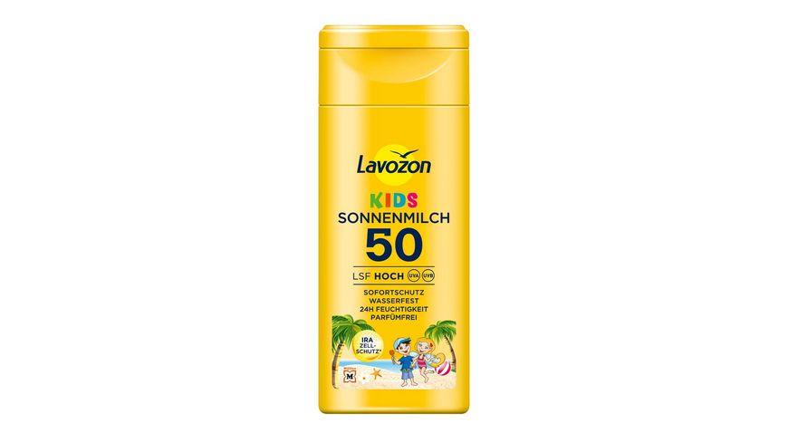 LAVOZON Sonnenmilch Kinder LSF 50