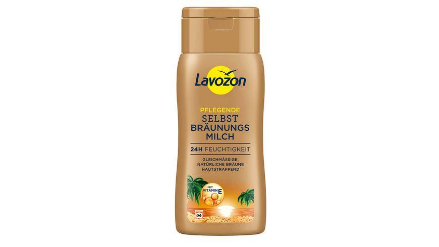 LAVOZON Selbstbräunermilch