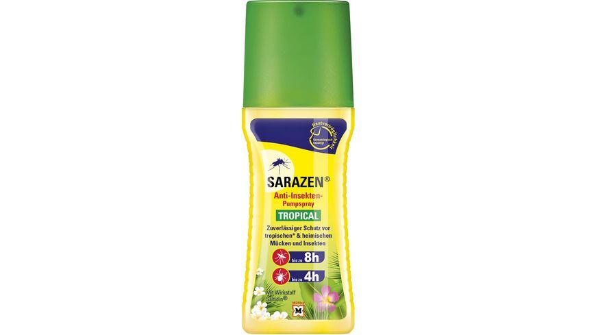 Sarazen Anti Insekten Pumpspray Tropical 100ml Biozidprodukt