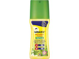 Sarazen Anti Insekten Pumpspray Tropical 100ml Biozidprodukt