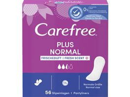Carefree Plus Original Frischeduft 56 Stueck
