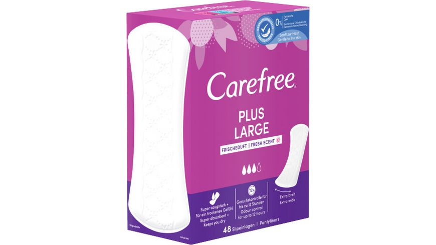 Carefree Plus Large Frischeduft 48 Stueck