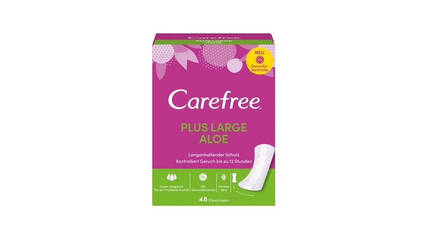 Carefree Plus Large Aloe 48 Stueck