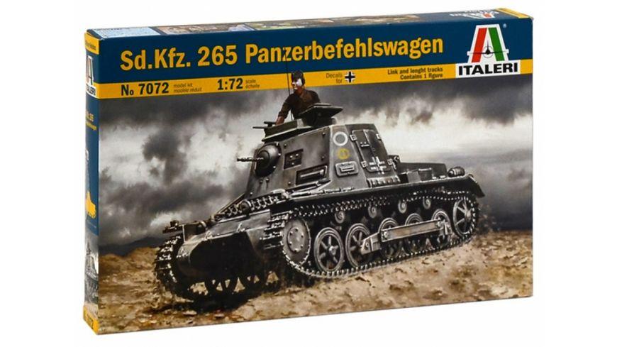 Italeri 510007072 1 72 Sd Kfz 265 Kleine Panzerbefehlswag