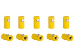 Viessmann 6879 Muffen gelb 10 Stueck