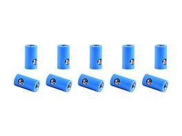 Viessmann 6883 Muffen blau 10 Stueck