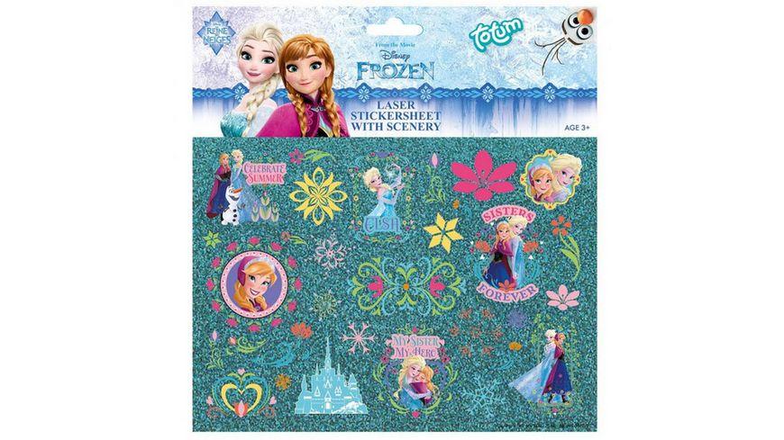 Totum Disney Frozen Laserstickerbogen