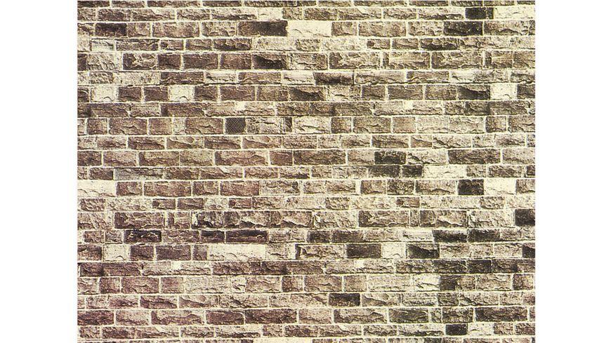 NOCH 57720 H0 Mauerplatte Basalt