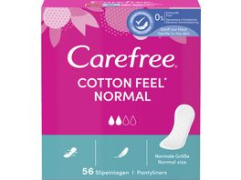 Carefree Cotton 56 Stueck