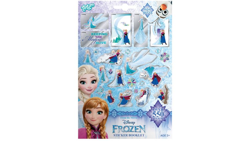 Disney Frozen Stickerheft