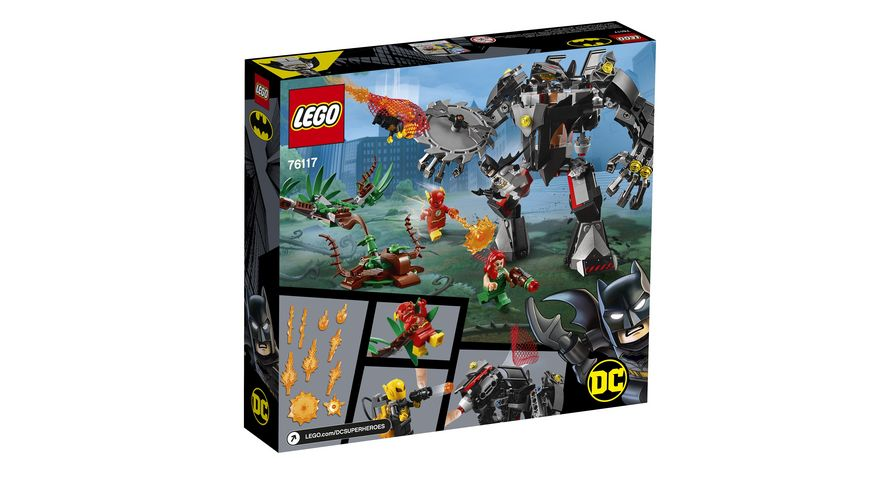 LEGO DC Comics Super Heroes Batman Mech vs Poison Ivy Mech
