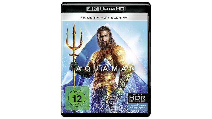 Aquaman 4K Ultra HD Blu ray 2D