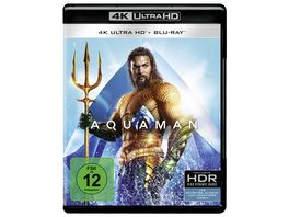 Aquaman 4K Ultra HD Blu ray 2D