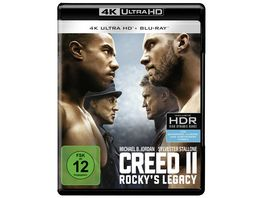 Creed 2 Rocky s Legacy 4K Ultra HD Blu ray 2D