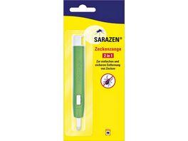 Sarazen Zeckenzange 2in1