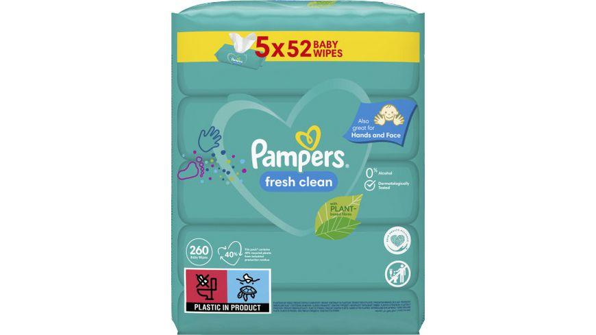 Pampers Feuchttuecher Fresh Clean (5x52ST) = 260ST