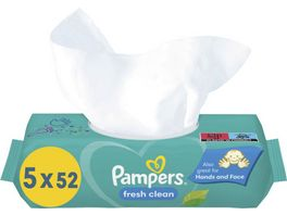 Pampers Feuchttuecher Fresh Clean 5x52ST 260ST