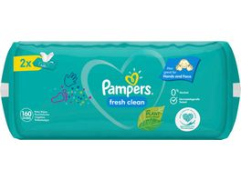Pampers Feuchttuecher Fresh Clean 2x80ST 160ST