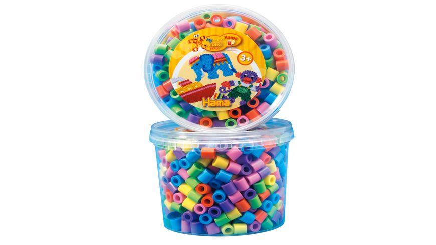 Hama Dose mit Maxi Perlen Ca 600 Perlen