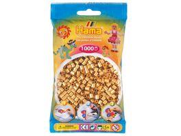 Hama Buegelperlen im Beutel ca 1000 Stueck gold
