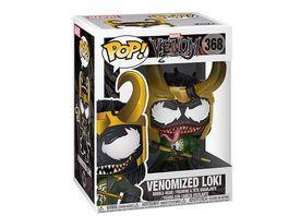 Funko POP Marvel Venom Venomized Loki Bobble Head Figur
