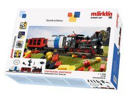 Maerklin 29730 Maerklin Start up Startpackung Bausteinzug mit Sound und Lichtbausteinen 230 Volt