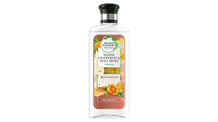 Herbal Essences PURE renew Weisse Grapefruit Mosa Minze Volumen Shampoo