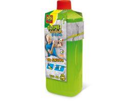 SES Creative Schleim Blaster Nachfuellpack Gruen fluoreszierend 750 ml