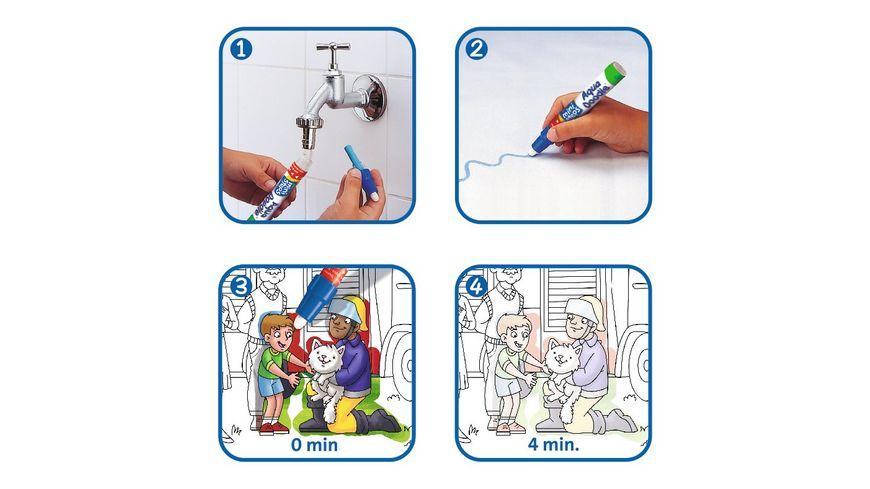 Ravensburger ministeps Aqua Doodle Puzzle Einsatzfahrzeuge