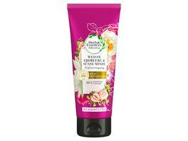 Herbal Essences PURE renew Weisse Erdbeere Suesse Minze Tiefenreinigung Pflegespuelung