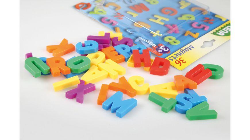 Lena - Pre School - Magnet-Großbuchstaben