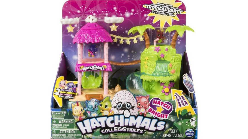 Spin Master Hatchimals CollEGGtibles Tropical Party Playset