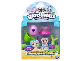 Spin Master Hatchimals CollEGGtibles Flower Shower Playset