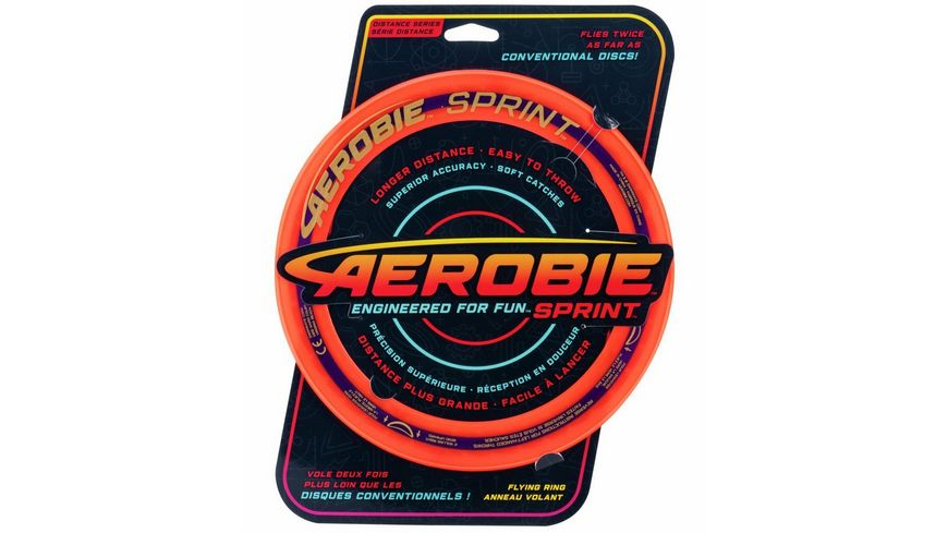 Aerobie Sprint Flying Ring 25 cm 1 Stueck sortiert